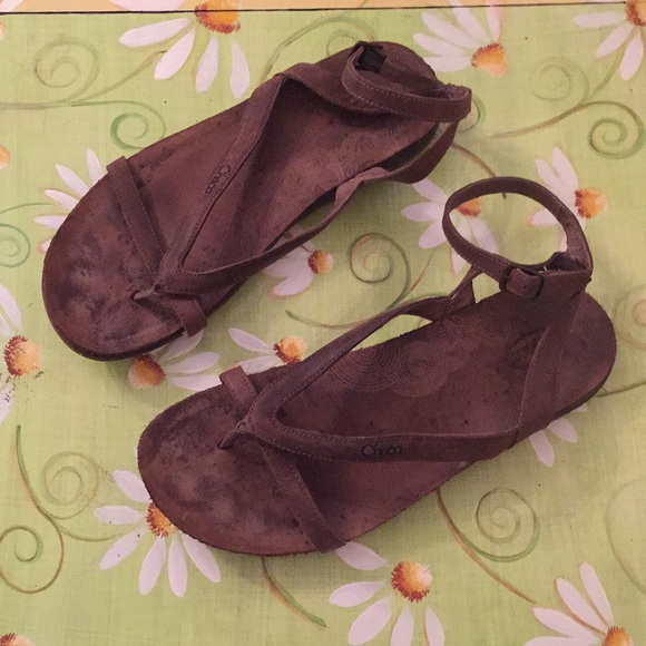 415e2823de22 Chaco Shoes - Chaco Sophia Leather Ankle Strap Sandals